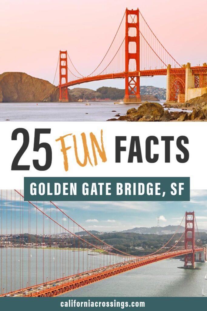 25 fun golden gate bridge facts