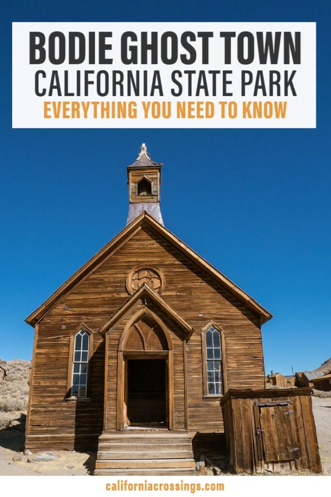 Bodie ghost town california state park guide