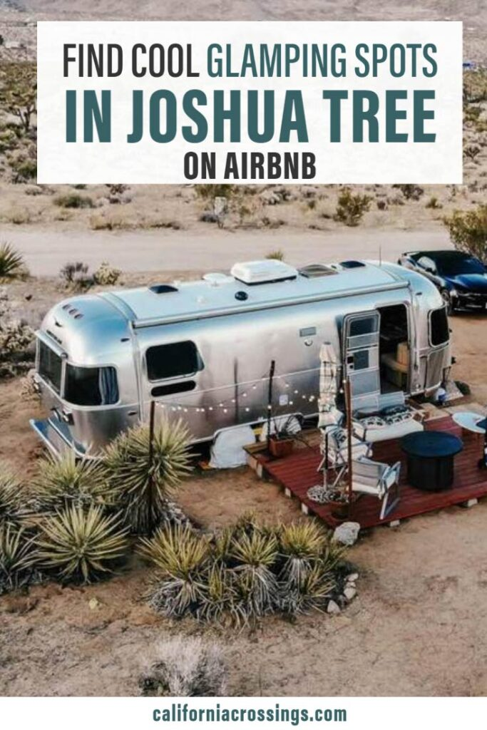 Find cool glamping in Joshua Tree