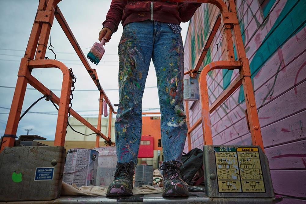 Eureka California art town street art festival