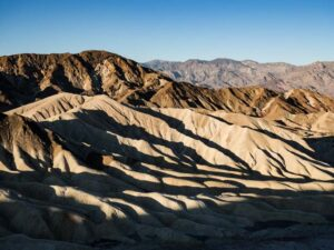 Death valley facts Zabriskie Point