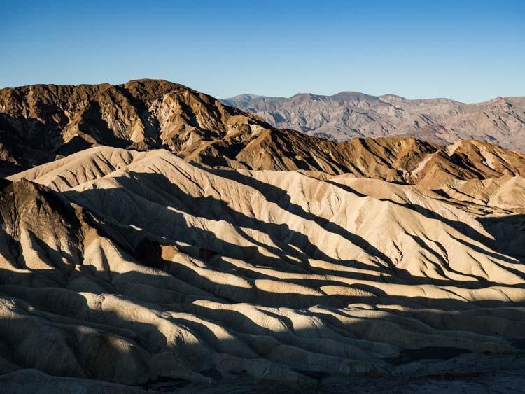 Death valley facts Zabriskie Point