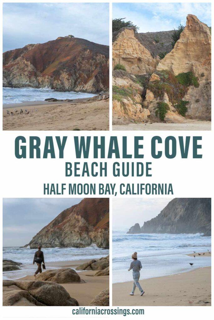 Half Moon Bay Gray Whale Cove beach guide