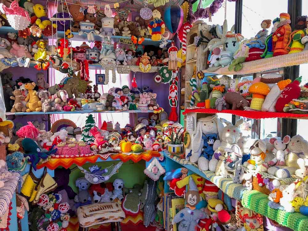 Joshua Tree's world famous crochet museum