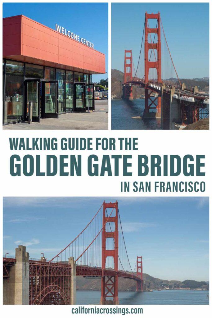 Walking the Golden Gate Bridge in San Francisco