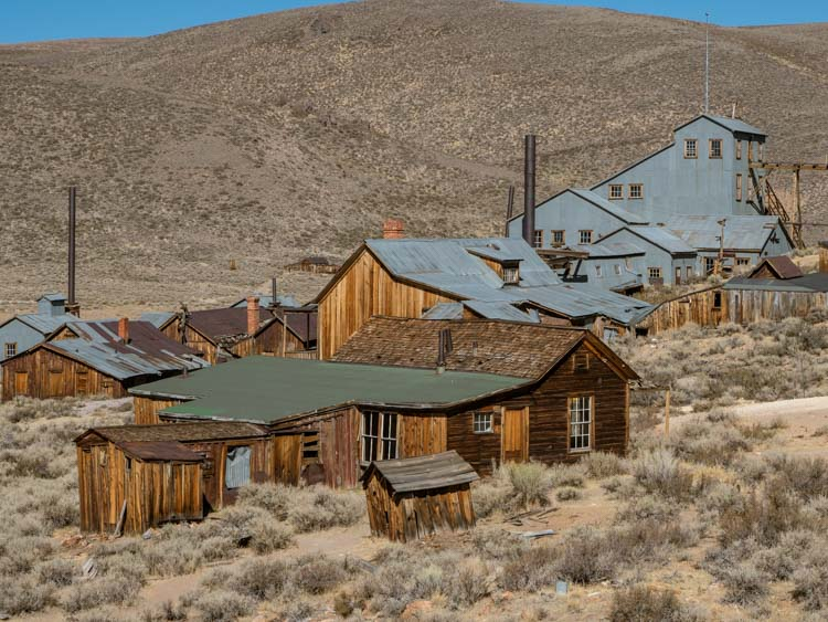 Bodie California Ghost Town- mining residence