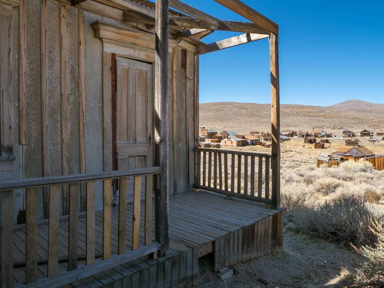 Bodie state historic park Dolan house ruin