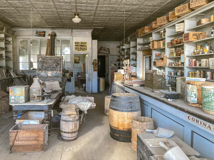 Bodie state park general store