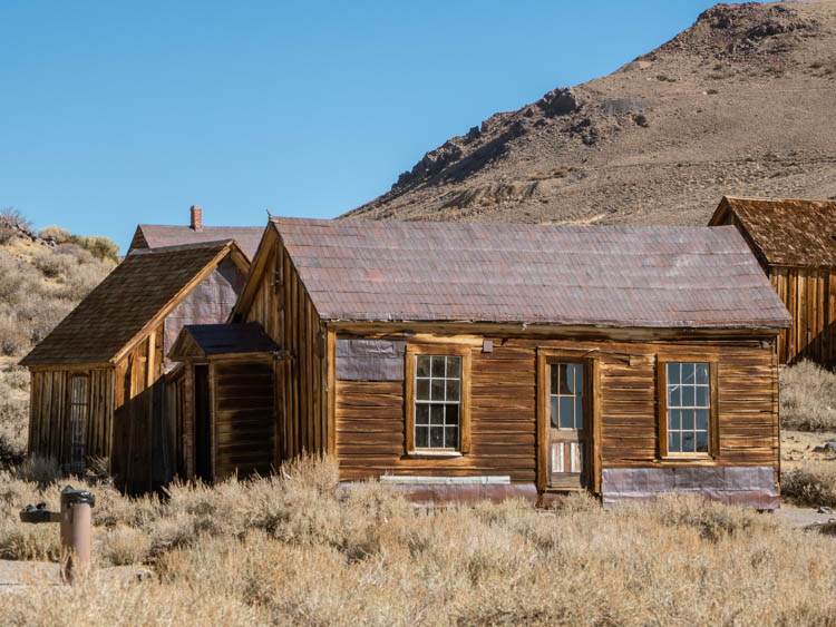 Moyle house at Bodie state park