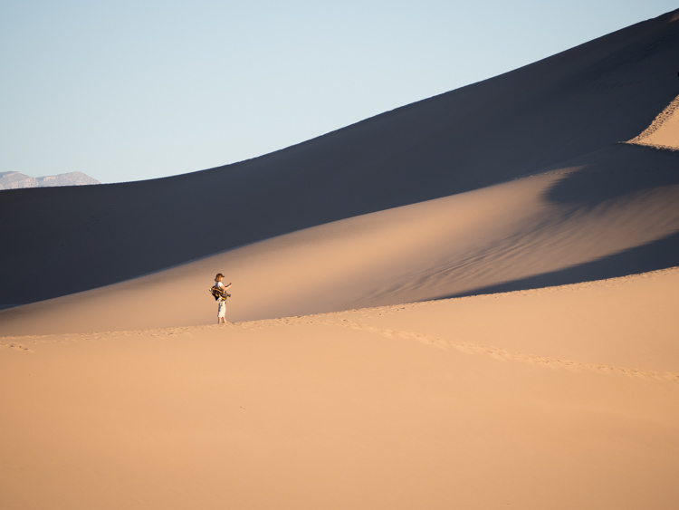 Mesquite Dunes: Day trip from las vegas to death valley national park