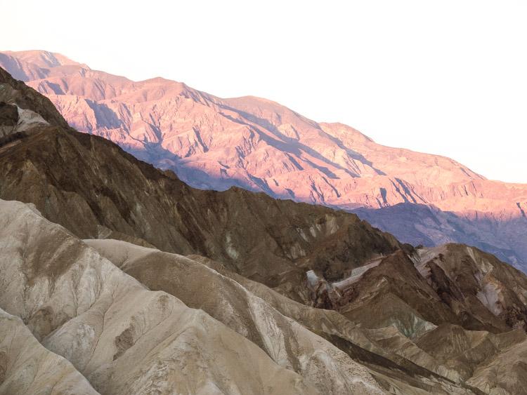 Death Valley from Las Vegas Zabriskie Point