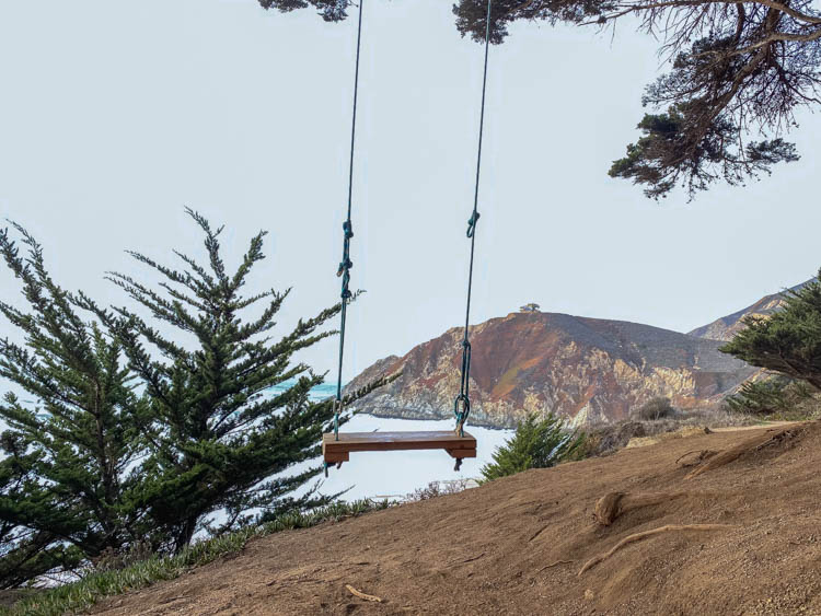 Gray Whale Cove swing