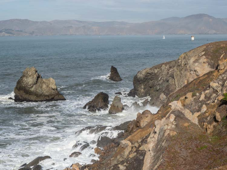 SF Lands End hike ocean view