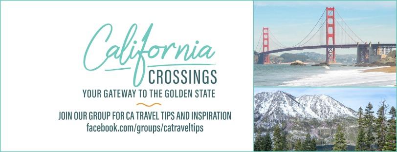 California travel tips facebook community