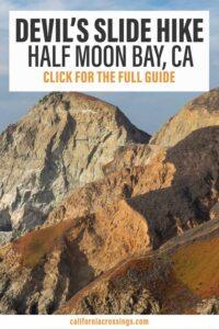 Devil's Slide trail hike Half Moon Bay California