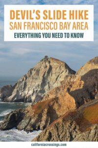 Hiking the Devil's Slide trail San Francisco Bay Area