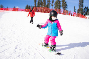 best Ski Resorts for Beginners in Lake Tahoe- Sierra at Tahoe . kid skiing