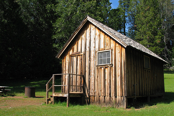 Malakoff State Historic park cabin building