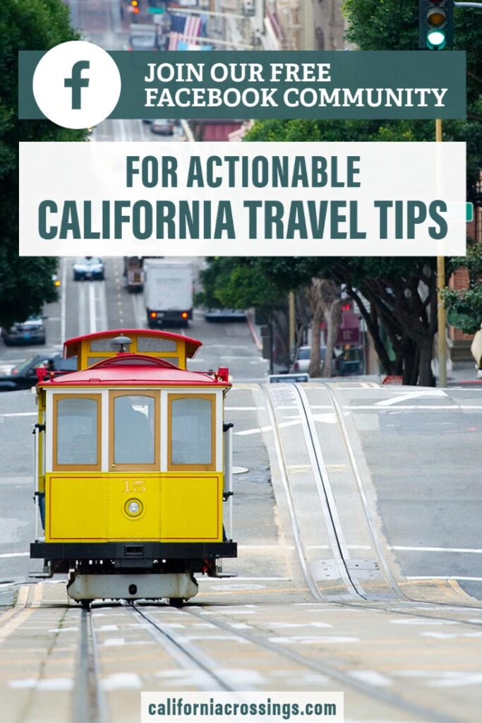 California travel tips community. Click to join. Pic of cable car