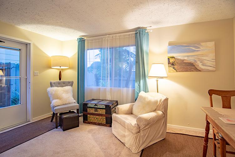 Montara Airbnb rental interior living room