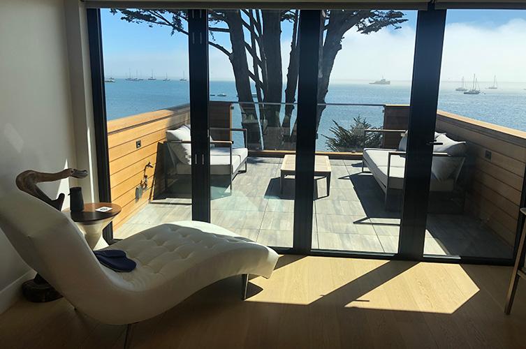 Half Moon Bay airbnb rental home Modern Luxury
