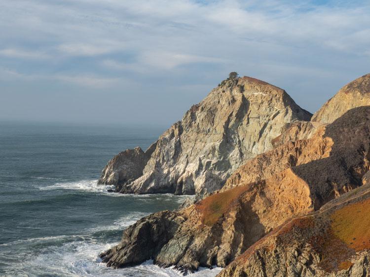 Devil's Slide Trail California: coastal landscape