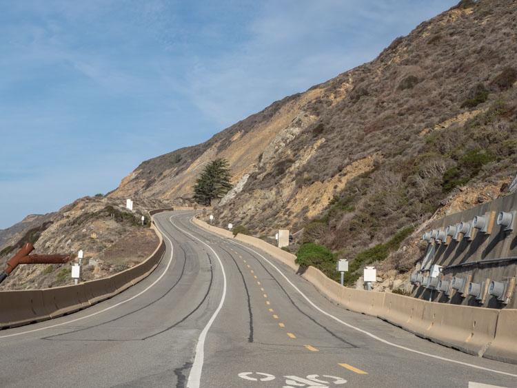 Devil's Slide trail road