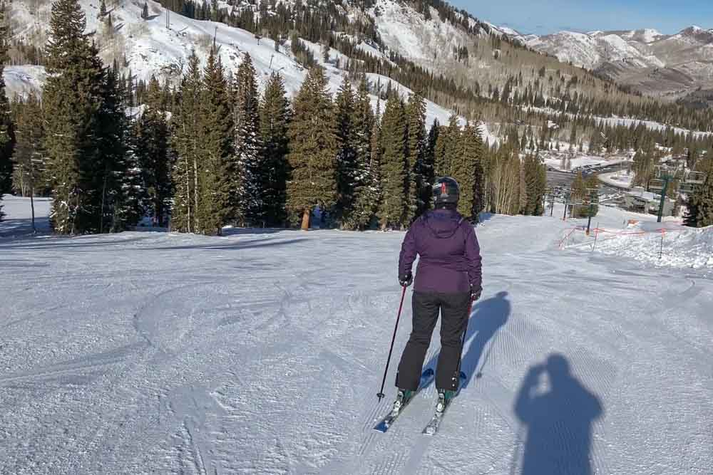 Tahoe ski packing list downhill skier