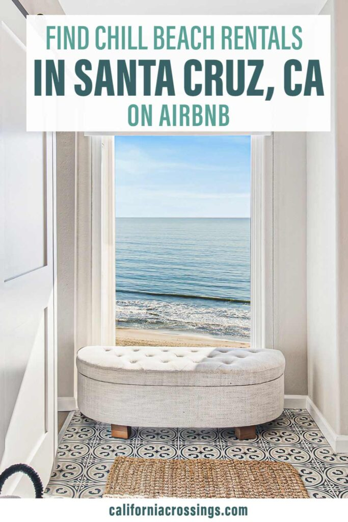 Find Beaches Houses in Santa Cruz California Airbnb. large window with ocean view