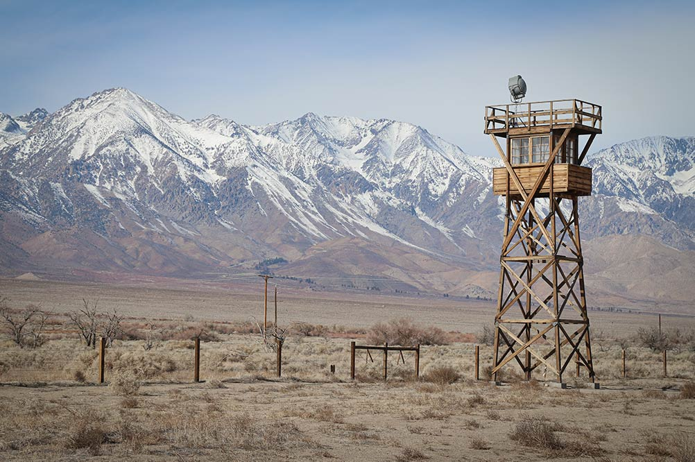 Manzanar Historic National Park internment camp