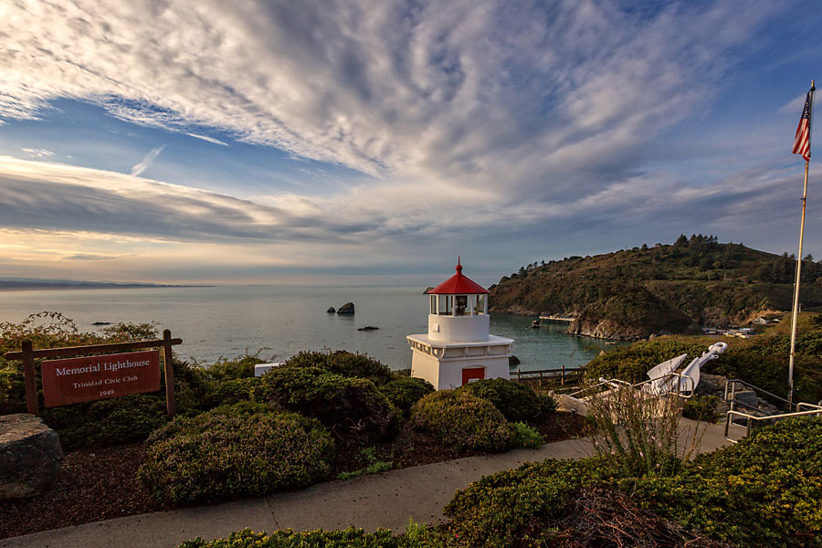 Lighthouse in Trinidad California