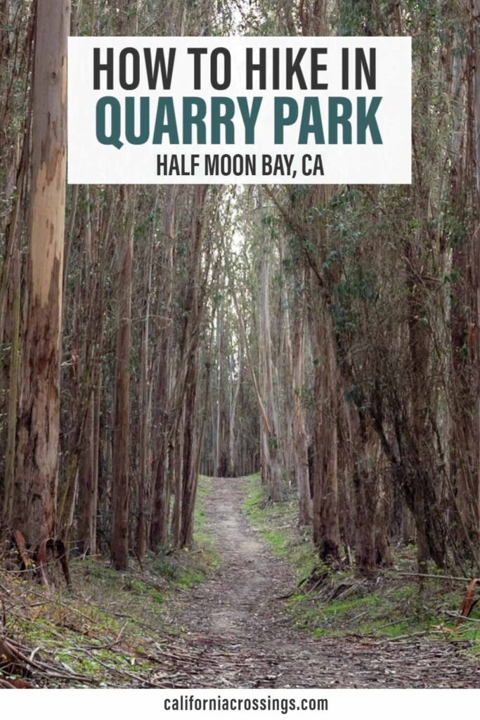 Half Moon Bay Quarry Park hike