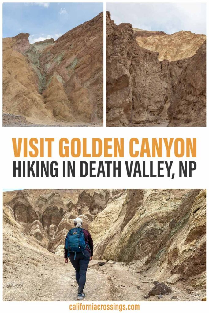 Visit Golden Canyon Death Valley - hiking guide