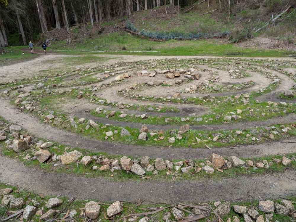 El Granada Quarry Park labyrinthEl Granada Quarry Park labyrinthEl Granada Quarry Park labyrinth
