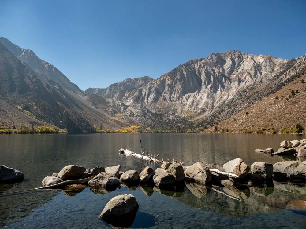 Convict Lake California mountain view