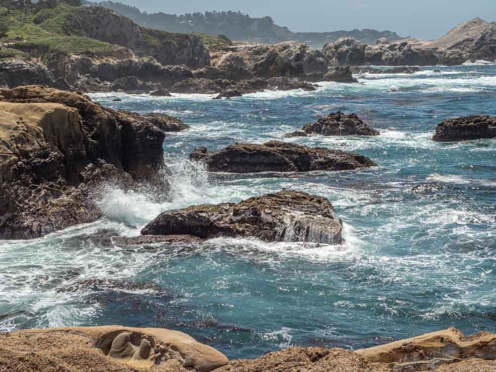 Point Lobos state reserve coast landscape