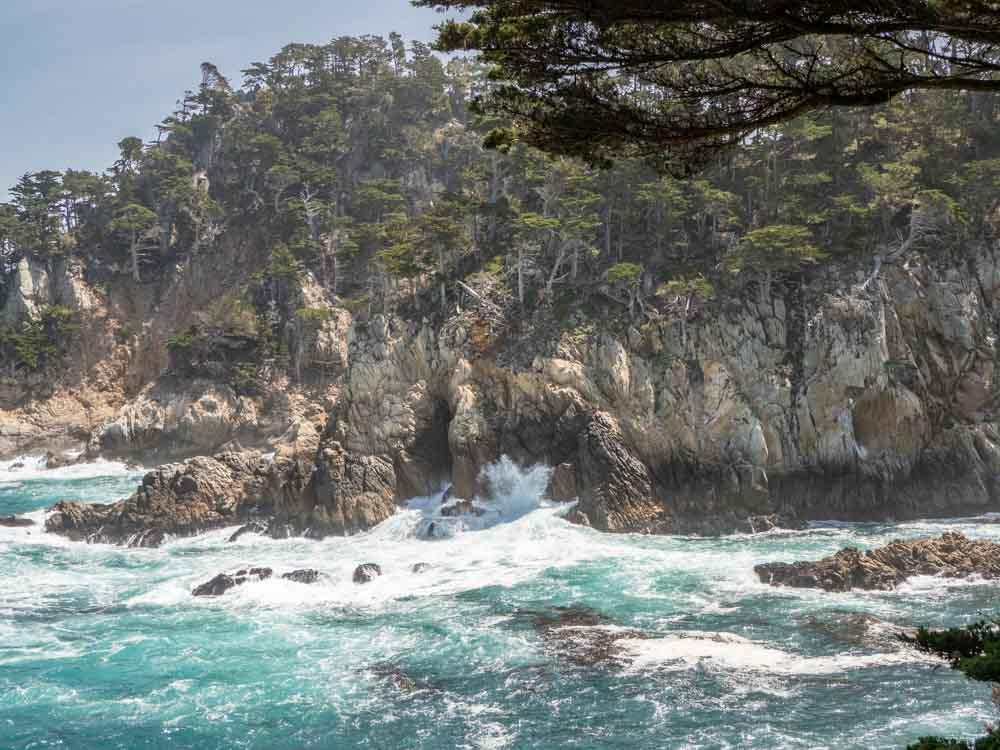 Bug Sur Point Lobos State Reserve surf