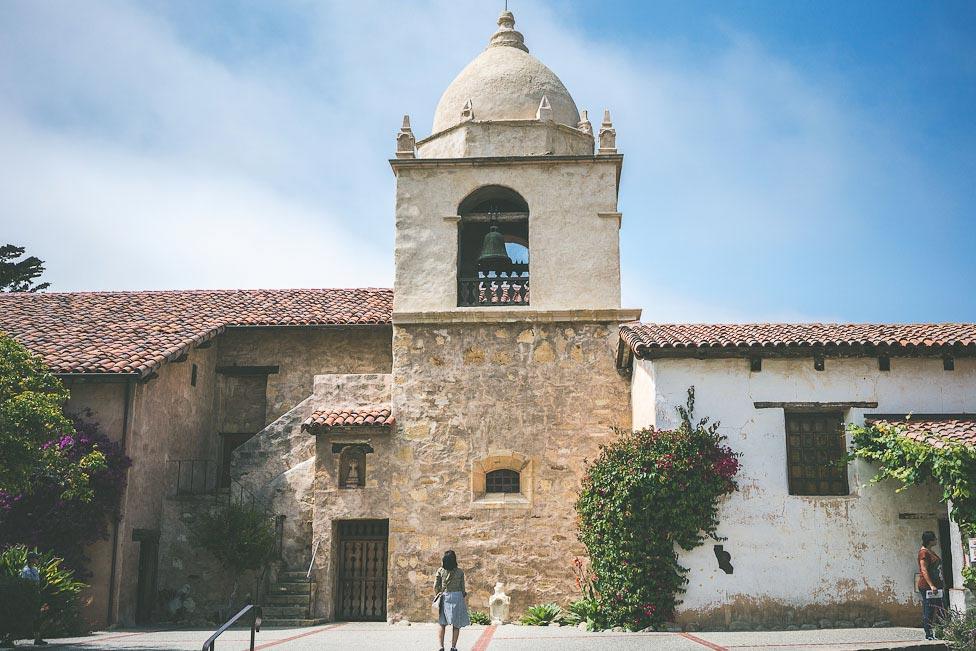 Carmel California Mission exterior