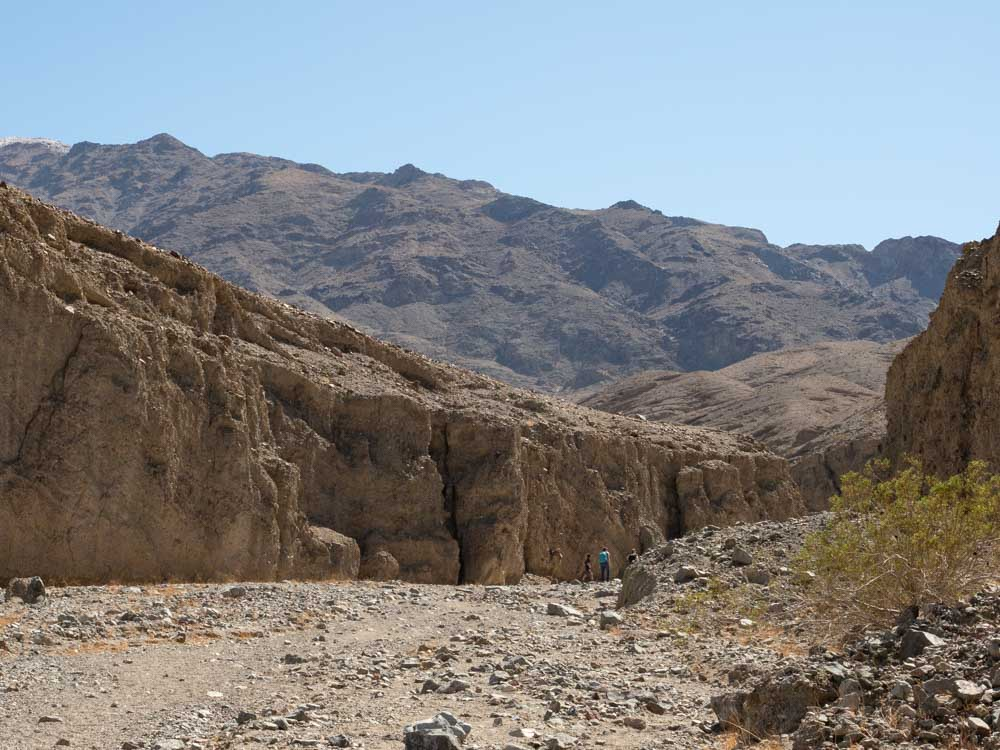 Sidewinder Canyon Death Valley Hike Canyon opening