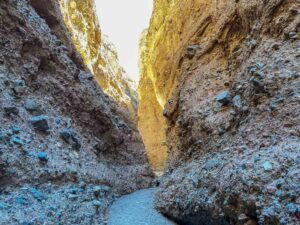 Sidewinder Canyon slot canyon #4- narrow rock walls