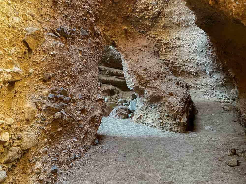 Sidewinder Canyon California- #4 slot canyon arch