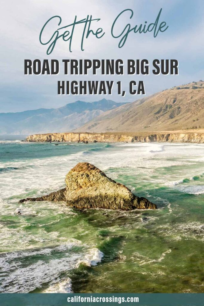 Get the guide Road tripping Big Sur Highway 1. ocean view and cliffs