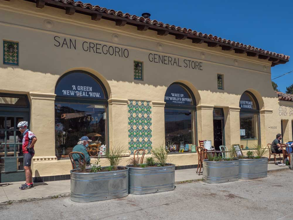 San Gregorio General Store in California