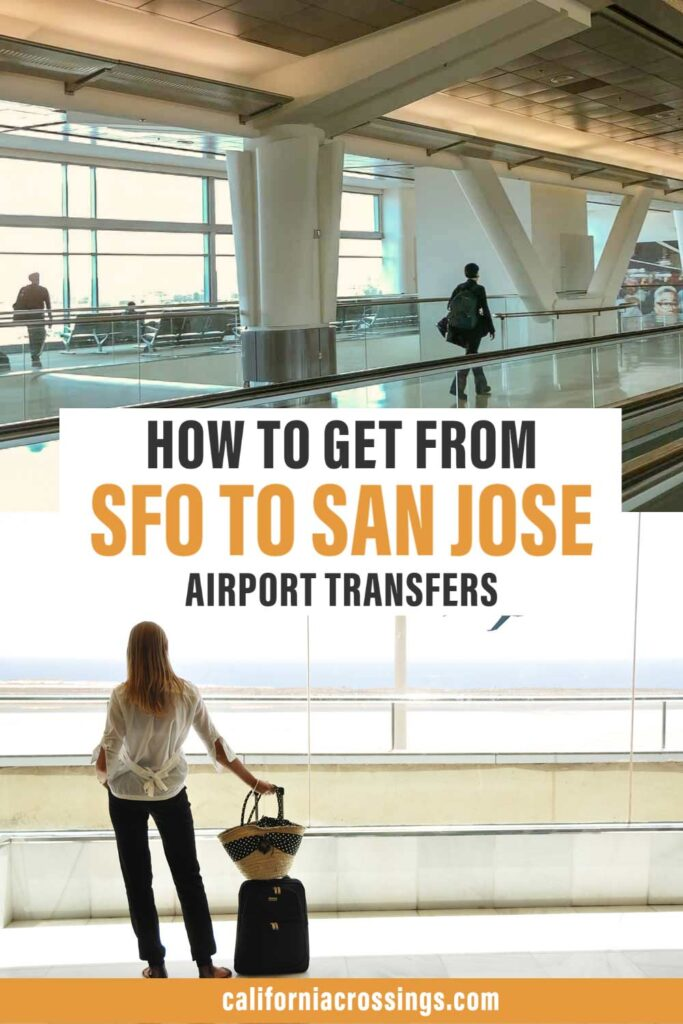 how to get from SFO airport to San Jose airport transfer options