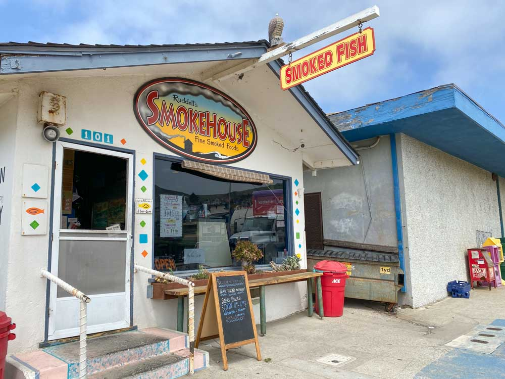 Cayucos Ruddell's Barbeque exterior