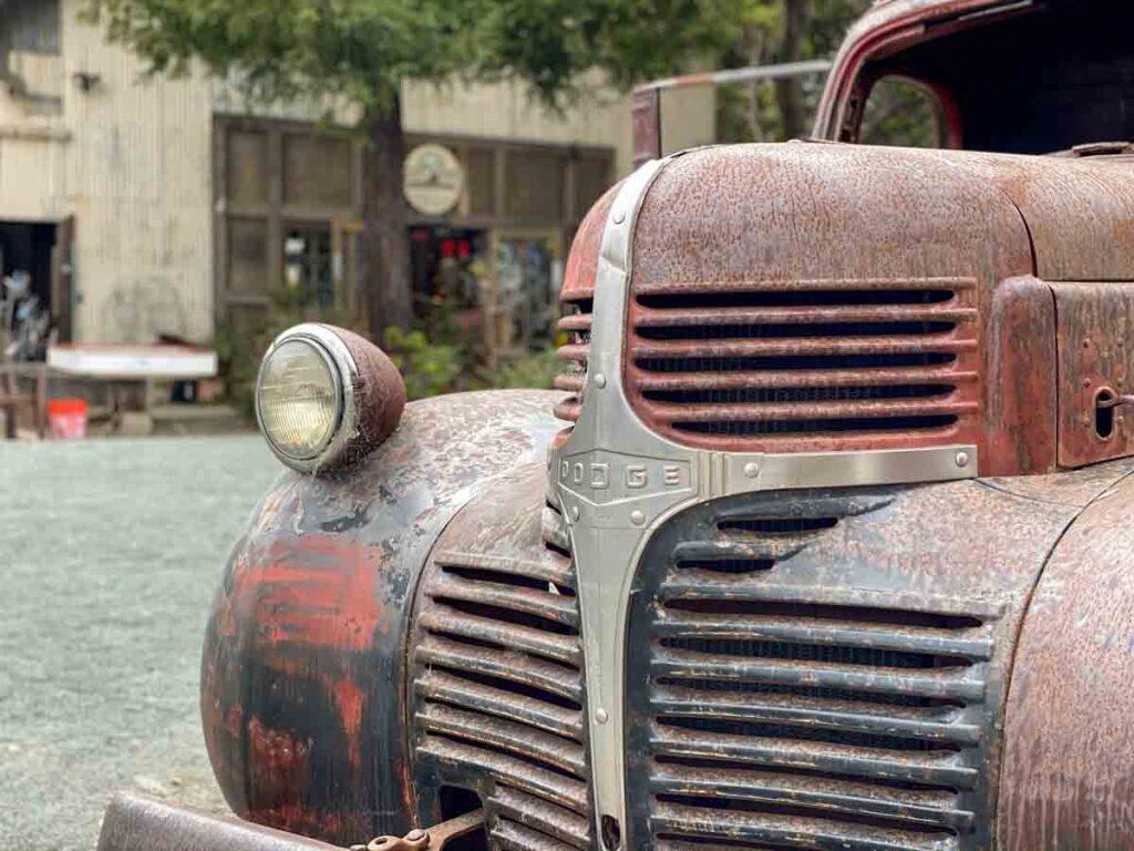 Old truck in Harmony California