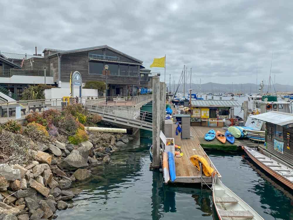 Morro Bay Waterfront pier