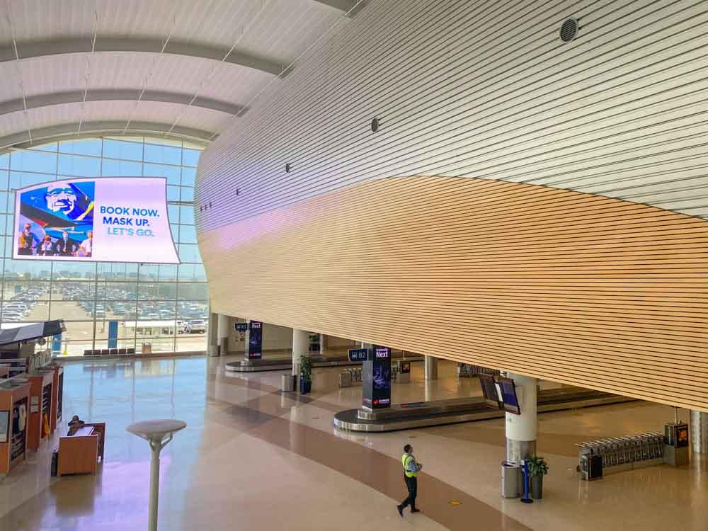San Jose Airport to SFO Terminal B arrivals SJC