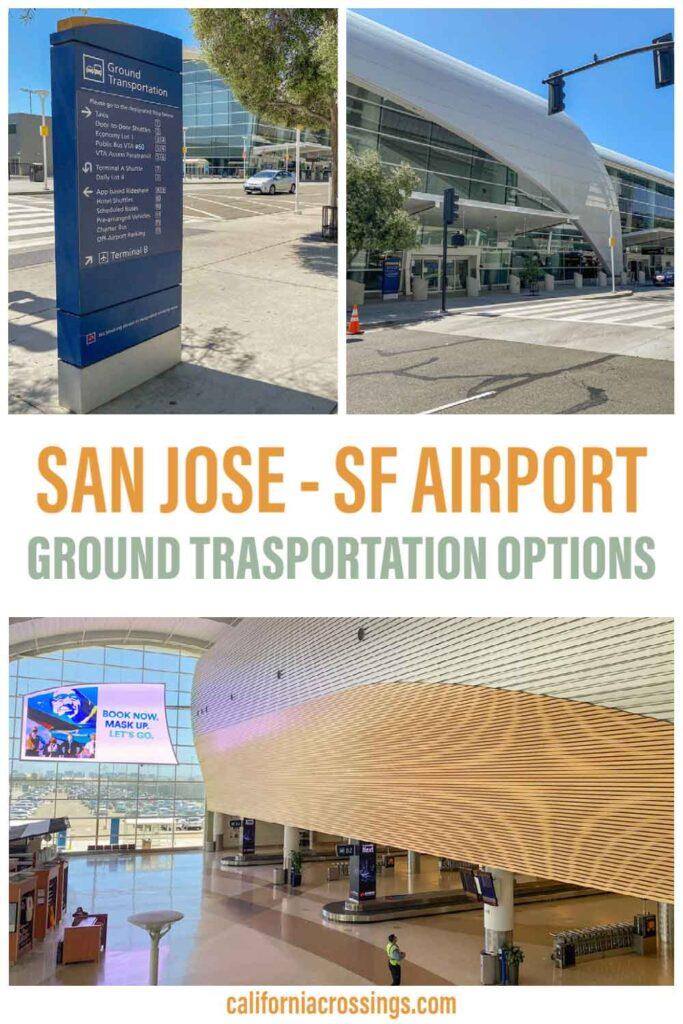 San Jose to SFO airport ground transportation options