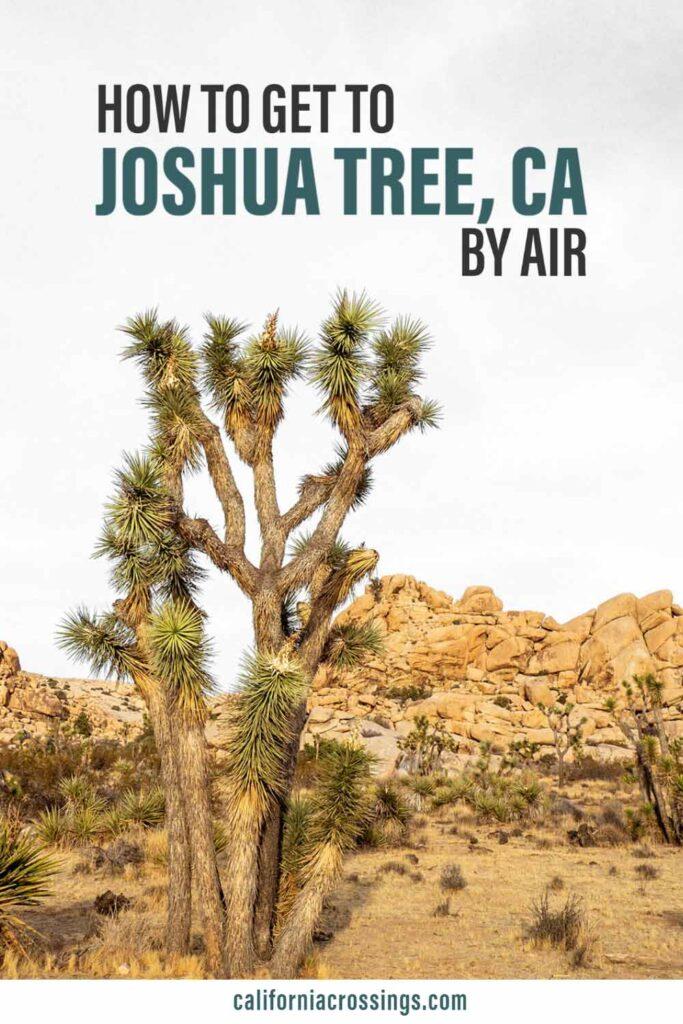 Joshua Tree closest airport